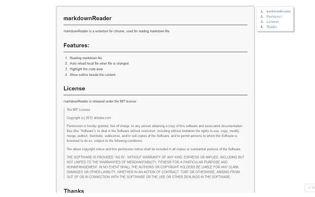 Markdown Reader图片