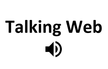 Talking Weblogo图片
