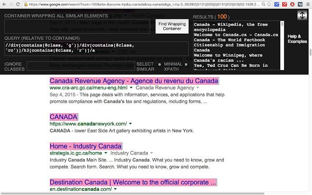 XPath Helper Wizard Chrome插件使用方法