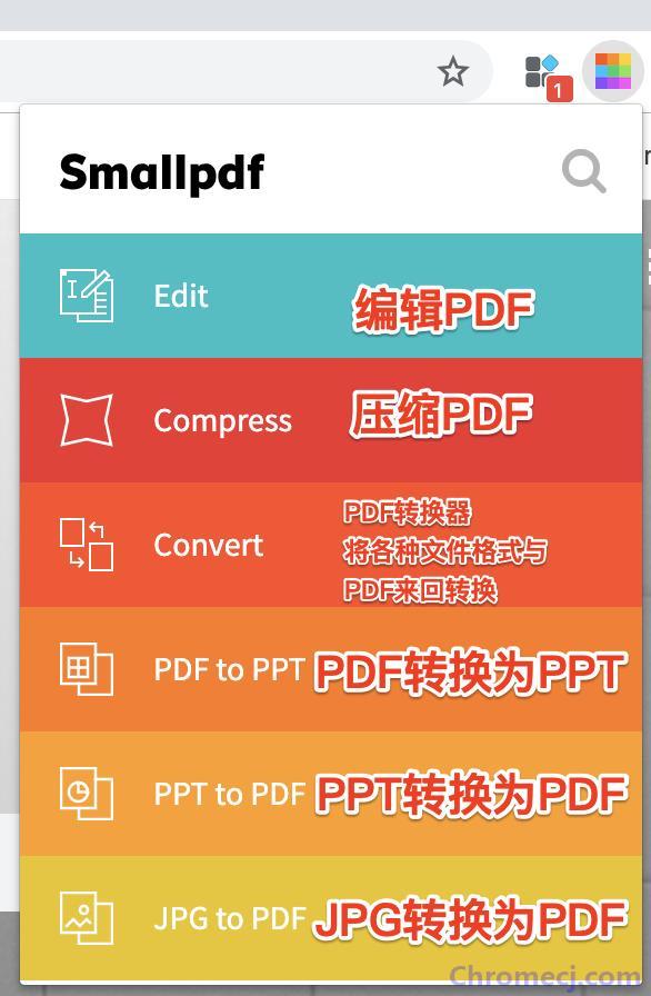 Smallpdf - 简单好用的 PDF 工具简介