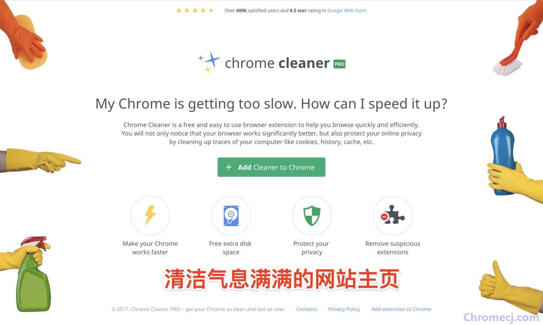 Chrome Cleaner Pro插件简介