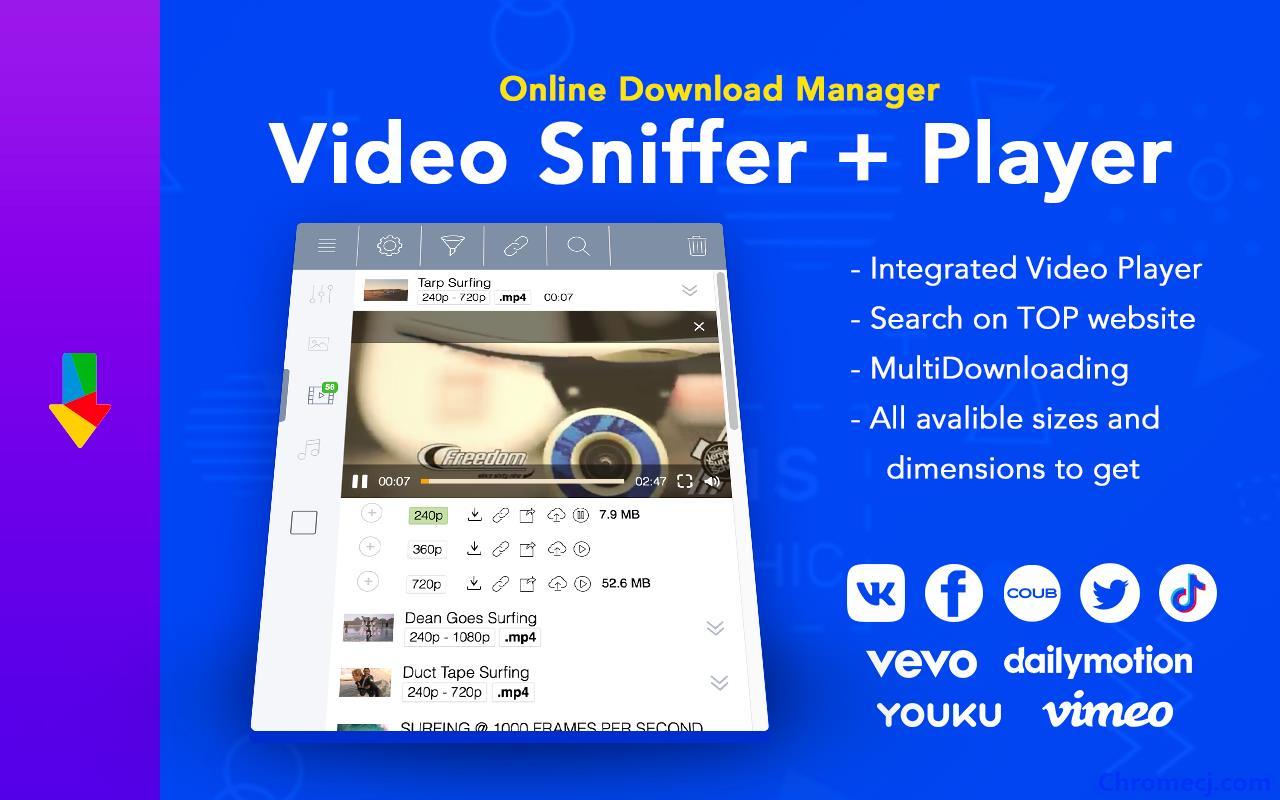Online Download Manager插件简介