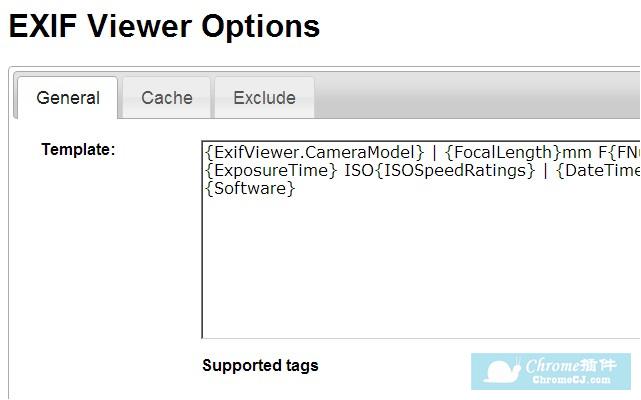 EXIF Viewer - Chrome插件(谷歌浏览器插件)