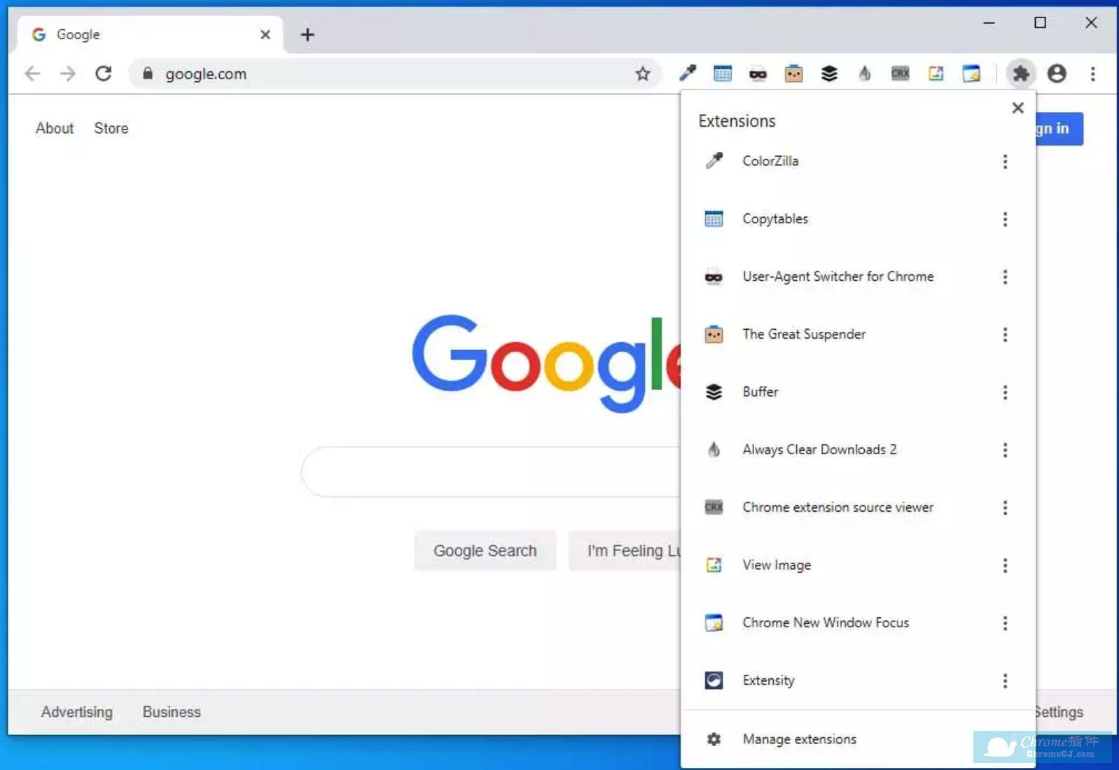 Google Chrome 正在测试新的扩展菜单