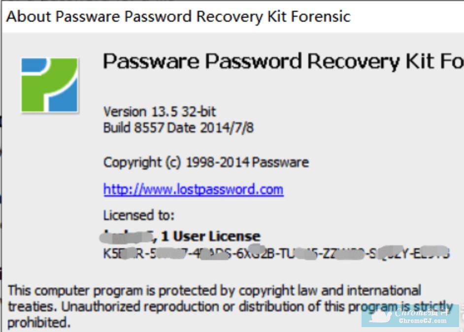 passware passwod recovery安装方法