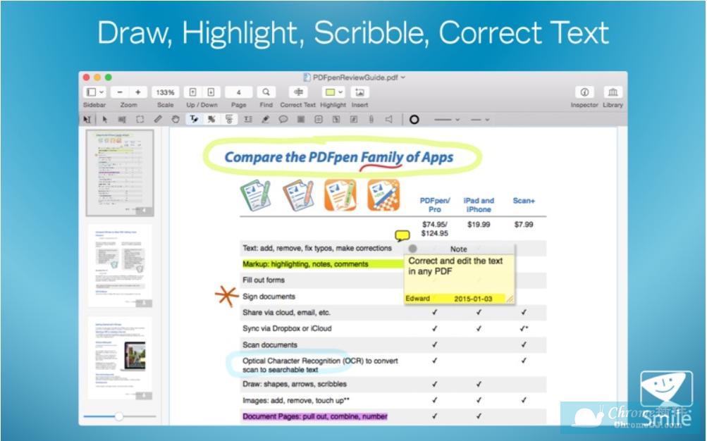 PDFpenPro软件使用方法