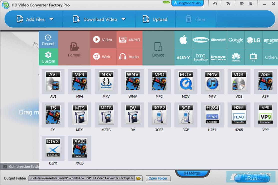 HD Video Converter Factory Pro使用方法