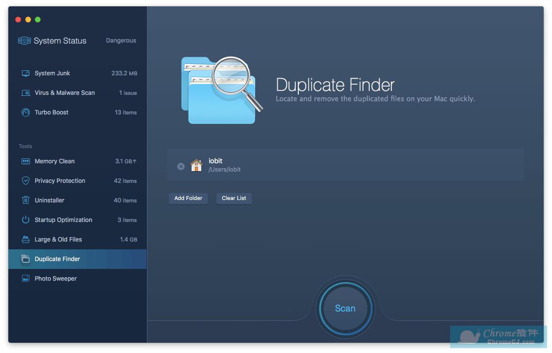 IObit MacBooster 8 for Mac 清理优化工具软件使用方法