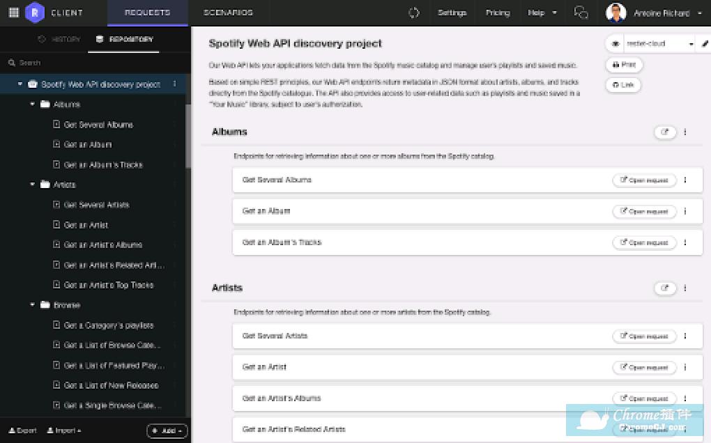 Talend API Tester插件使用方法