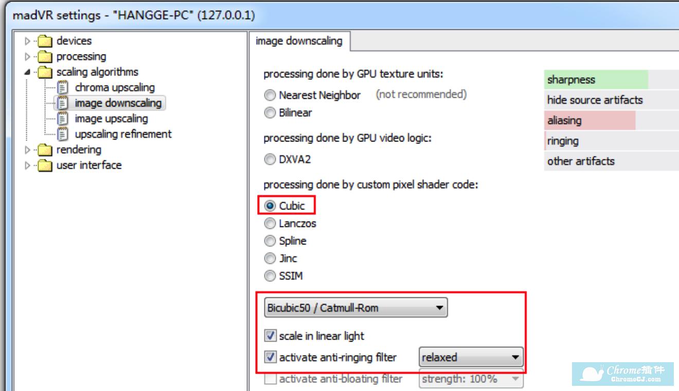 (2)image downscaling:影像缩放